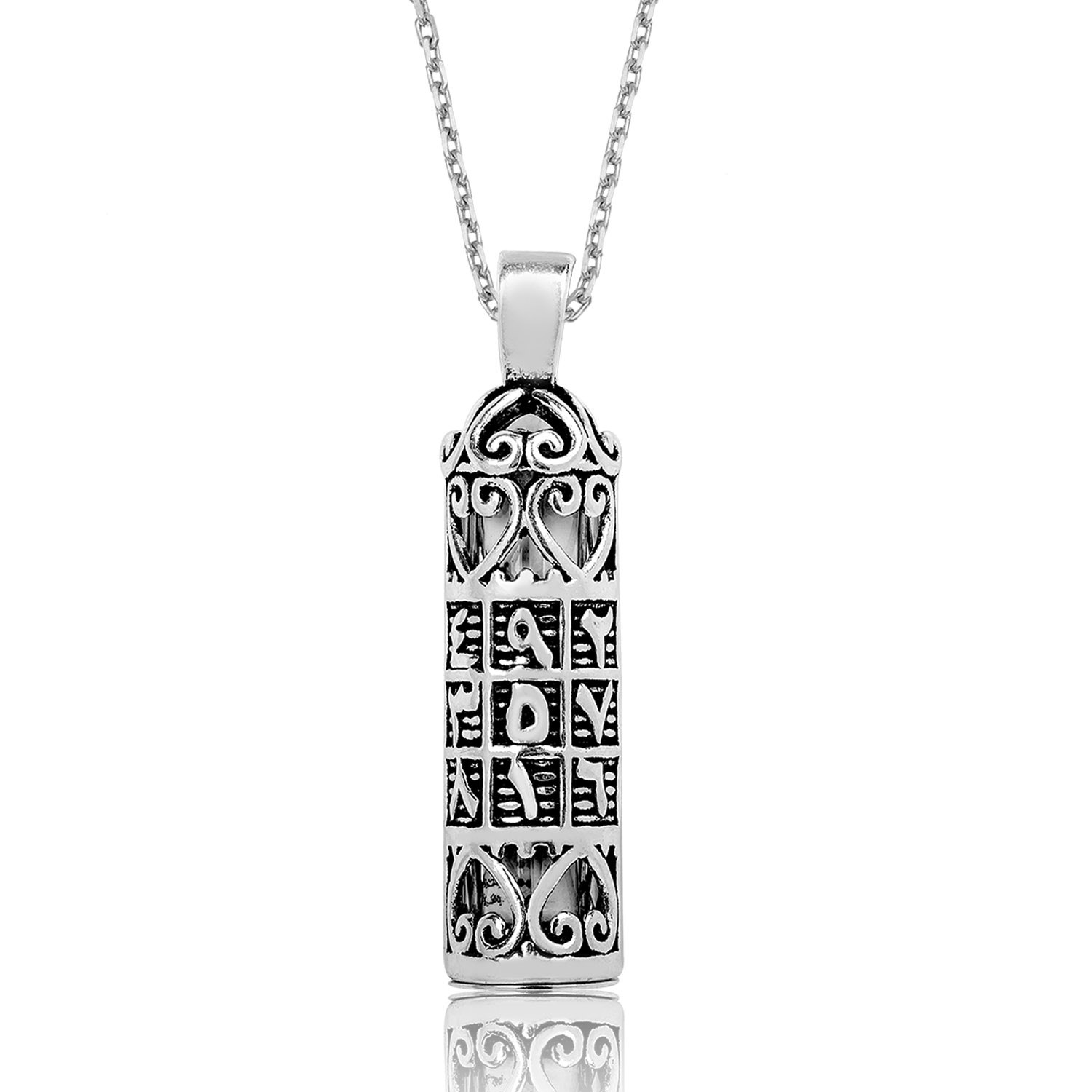 Letters silver amulet pendants ebced islamic jewelry storeislamic letters silver amulet pendants ebced ij1 1646 islamic jewelry aloadofball Images